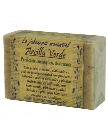 Jabón Artesano Arcilla Verde