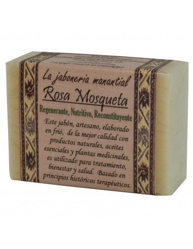 Jabón Artesano Rosa Mosqueta